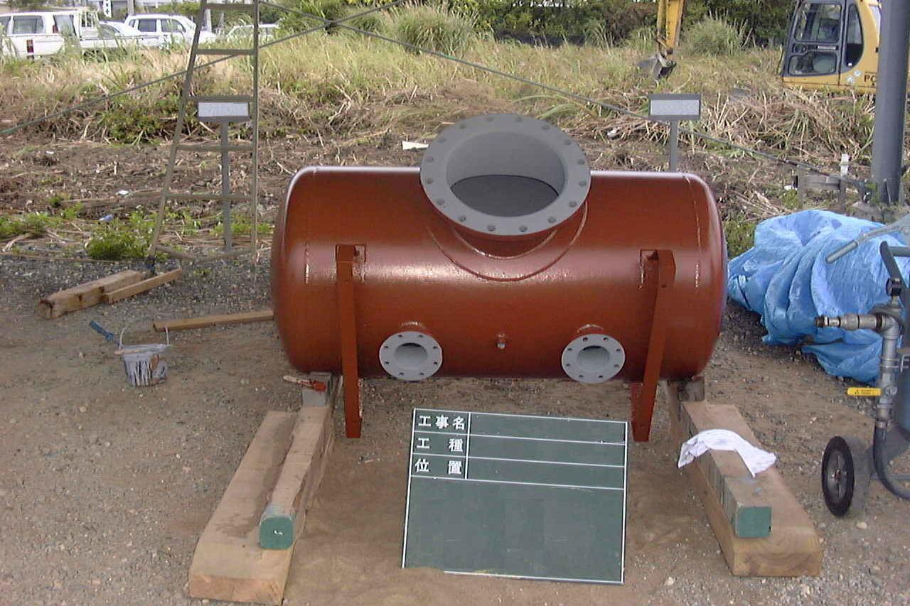 冷水タンク